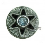 15mm-22mm Gun Star Rhinestone+Metal Button manufacturers