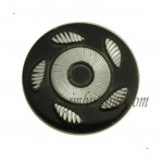 15mm-25mm Black Custom Jeans Aluminum Buttons