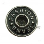 15mm-25mm Black Wholesale Jeans Buttons