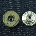17mm 20mm 22mm Antique Bronze Copper Move Buttons