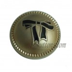 17mm 20mm 22mm Glod Zinc Alloy Button Wholesale