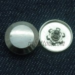 17mm 20mm 22mm Gun Metal Press Fasteners Buttons
