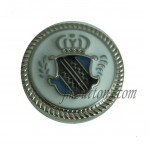 17mm 20mm 22mm Silver Metal Fashion Button Wholesale