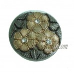 17mm-25mm Zinc Alloy Rhinestone Jeans Button manufacturers