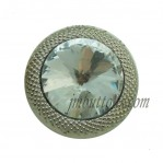 15-22mm Silver Rhinestone Buttons Wholesale
