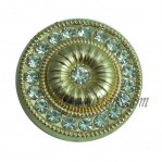 15-25mm Gold Rhinestone Metal Buttons manufacturers