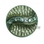 15-25mm Gold Rhinestone Zinc Alloy Buttons Wholesale