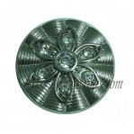 15-25mm Gun Custom Rhinestone Flower Buttons