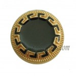 15-25mm Plating Black Metal Custom Buttons Wholesale