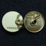Glod Metal Buttons Snap Press 17mm 20mm 22mm
