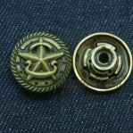 Move Jeans Button 17mm 20mm 22mm Barrel Plating