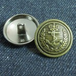 Sewing Shank Button 17mm-22mm Antique Bronze Online