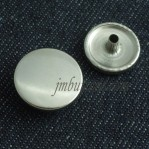 Snap Buttons Silver Copper 15-22mm Manufacturers
