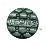Wholesale Jeans Buttons Barrel Plating 15-25mm Gun