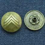 15-22mm Antique Bronze Custom Press Snap Buttons