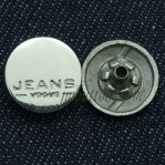 15-25mm Silver Snap Button Clothing Fasteners