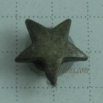 5mm-12mm Antique Bronze Rivet Jeans Star Buttons China Factory