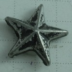 5mm-12mm Gun Metal Star Jean Rivets Buttons