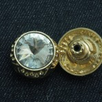 Gold Metal Buttons Fix For Jeans Chinese Manufacturer