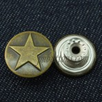 Custom Vintage Tack Buttons For Jeans China Supplier