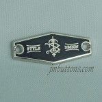 Sewing Metal Logo Brand Patch Alloy Tags Wholesale