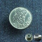 Wholesale Fix Brass Cowboy Buttons With Butterfly Pattern