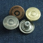 Wholesale 17mm Colorful Tack Denim Buttons