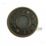 9.5mm-22mm Brass Jeans Button Factory In China