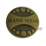 Vintage Brass Buttons For Jeans Wholesale