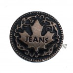 Wholesale Denim Tack Tin Buttons Iron Material