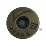 Custom Vintage Jeans Tack Iron Buttons Antique Bronze