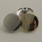 20mm Un Move Jeans Zinc Alloy Buttons With Tack