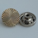 Yarn-Cutting Zinc Alloy Novelty Buttons For Clothing