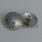 Customized Zinc Alloy Metal Coat Suit Shank Buttons With A Hole