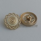 Shank Buttons Alloy Metal Sewing For Coat