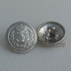 Wholesale Shank Metal Buttons Nickle Black Sew On