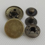 Wholesale Vintage Button Snaps Antique Bronze In Stock