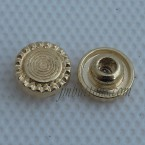 Wholesale Metal Golden Jean Button Nail With Tack