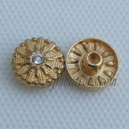 12mm Rhinestone Jeans Rivet Buttons Wholesale