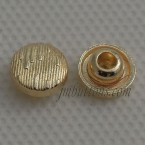 8mm Gold Alloy Metallic Button Rivet Nail For Jeans
