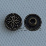 Antique Bronze Metal Jean Nail Buttons Wholesale