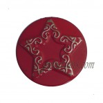 Cheap Iron Jeans Buttons Red Star pattern 17mm