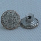 Cheap Metal Jeans Buttons Antique Copper
