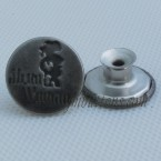Cheap Shank Jeans Buttons 17MM Gun Metal