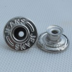 Metal Jeans Button Classic 17-20mm Manufacturer