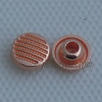 Rose Gold Metal Button Rivet Nail For Denim