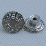Stainless Steel 17-20mm Denim Button Wholesale