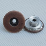 Steel Tack Jeans Buttons Antique Copper Stainless