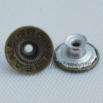 Vintage Jeans Stainless Steel Tack Buttons Manufacturer