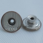 Vintage Wear Jeans Button 17 MM With Hole